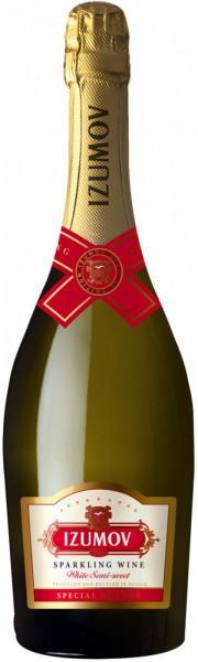 """Игристое вино Izumov """"Special Edition"""" Semi-sweet"""