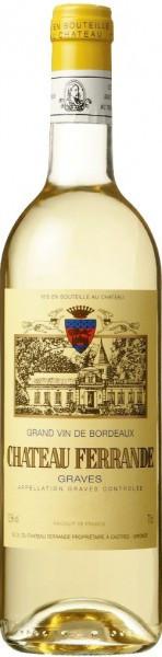 """Вино """"Chateau Ferrande"""" Blanc, Graves AOC, 2011"""
