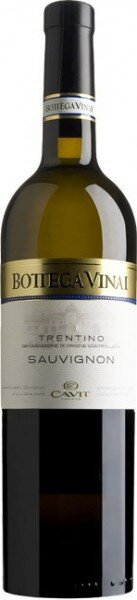 "Вино Cavit, ""Bottega Vinai"" Sauvignon, 2015"