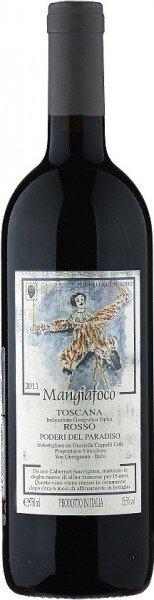"Вино Poderi del Paradiso, ""Mangiafoco"" Toscana IGT, 2011"
