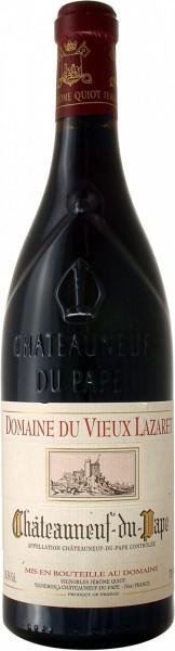Вино Domaine du Vieux Lazaret, Chateauneuf-du-Pape Rouge, 2010
