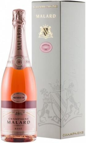 Шампанское Malard, Brut Rose, gift box