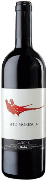 "Вино Gaja, ""Sito Moresco"", Langhe DOC, 2014, 0.375 л"