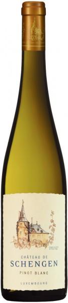 "Вино ""Chateau de Schengen"" Pinot Blanc, Moselle Luxembourgeoise AOP, 2014"