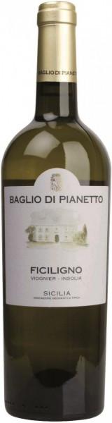 """Вино Baglio di Pianetto, """"Ficiligno"""" Viognier-Inzolia, Sicilia IGT, 2013"""