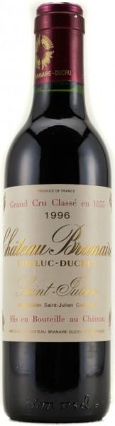 Вино Chateau Branaire-Ducru AOC Saint-Julien 4-eme Grand Cru Classe 1996, 0.375 л