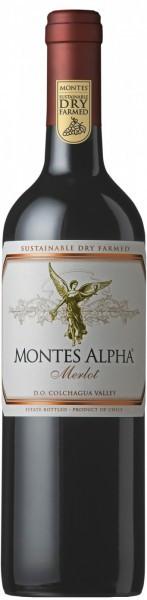 """Вино """"Montes Alpha"""" Merlot, 2013"""