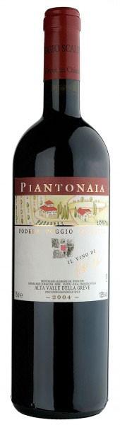 Вино Piantonaia, Alta Valle della Greve IGT, 2004