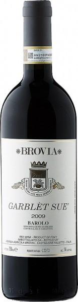 """Вино Brovia, """"Garblet Sue"""", Barolo DOCG, 2009"""