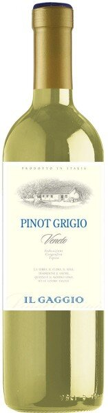 """Вино Natale Verga, """"Il Gaggio"""" Pinot Grigio, Veneto IGT, 2015"""