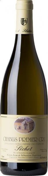"""Вино Domaine Jean et Sebastien Dauvissat, Chablis 1-er Cru """"Sechet"""", 2009"""
