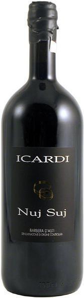 """Вино """"Nuj Suj"""", Barbera d'Asti DOC, 2012, 1.5 л"""