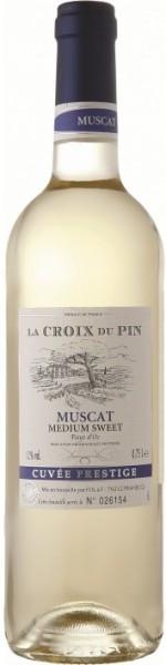 """Вино FDL, """"La Croix du Pin"""" Muscat, Pays d'Oc IGP"""