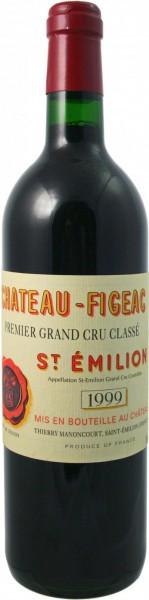Вино Chateau Figeac Saint-Emilion AOC 1-er Grand Cru Classe 1999