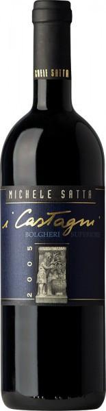 """Вино Michele Satta, """"I Castagni"""", Bolgheri Rosso Superiore DOC, 2005"""