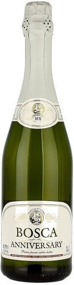 """Игристое вино """"Bosca Anniversary"""" White Label, 1.5 л"""