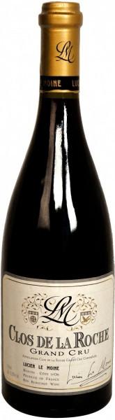 """Вино Lucien Le Moine, """"Clos de la Roche"""" Grand Cru AOC, 2010"""