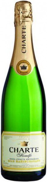 "Игристое вино Artemovsk Winery, ""Charte Komilfo"" White semi-sweet"