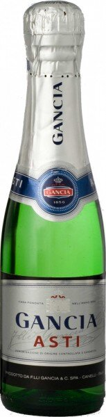 Игристое вино Gancia Asti DOCG, 0.375 л