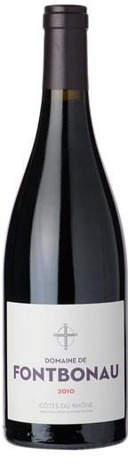 Вино Domaine de Fontbonau, Cotes du Rhone AOC, 2010