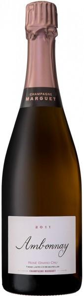 """Шампанское Marguet, """"Ambonnay"""" Rose Grand Cru, Champagne AOC, 2011"""