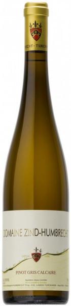 """Вино Zind-Humbrecht, Pinot Gris """"Calcaire"""", Alsace AOC, 2011"""
