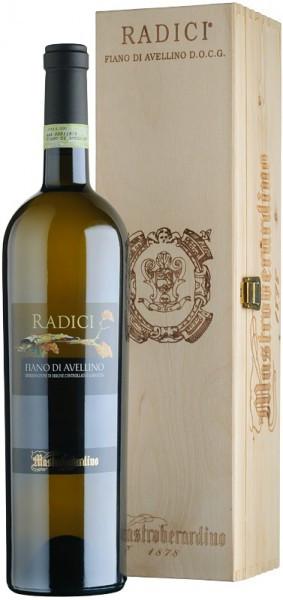 "Вино ""Radici"", Fiano di Avellino DOCG, 2012, wooden box, 1.5 л"