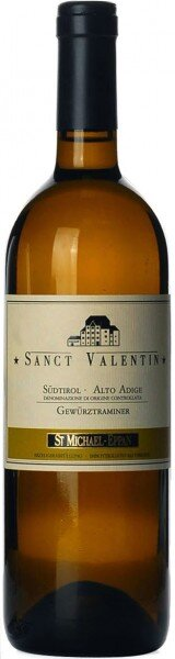 """Вино San Michele-Appiano, """"Sanct Valentin"""" Gewurztraminer, Alto Adige DOC, 2015"""