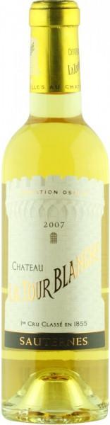 Вино Chateau La Tour Blanche, Sauternes AOC, 2007, 0.375 л