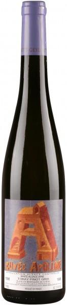 Вино Pinot Gris Cuvee Apolline, Alsace AOC 2000