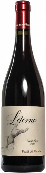 """Вино Feudi del Pisciotto, """"L'Eterno"""" Pinot Nero, Sicilia IGT, 2011"""