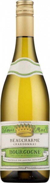 "Вино Bourgogne Chardonnay ""Beaucharme"" AOC, 2015"