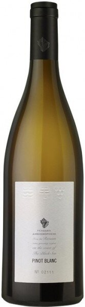 "Вино ""Usadba Divnomorskoe"" Pinot Blanc, 2014"