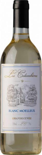 "Вино ""Les Colombieres"" Blanc Moelleux"