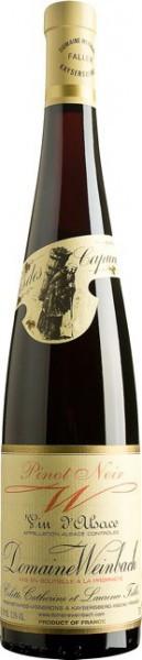 "Вино Domaine Weinbach, Pinot Noir ""W"", 2010, 1.5 л"