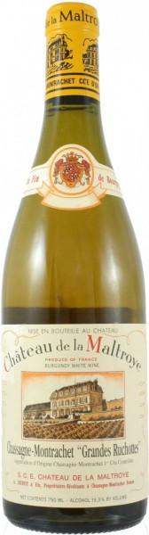 """Вино Chateau de la Maltroye, Chassagne-Montrachet 1er Cru """"Grandes Ruchottes"""", 2006"""