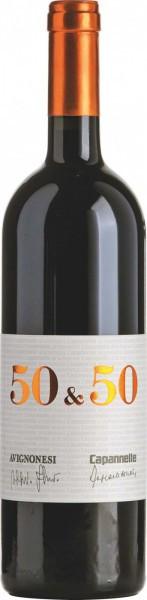 "Вино Avignonesi-Capannelle, ""50 & 50"", Vino da Tavola di Toscana IGT, 2010"