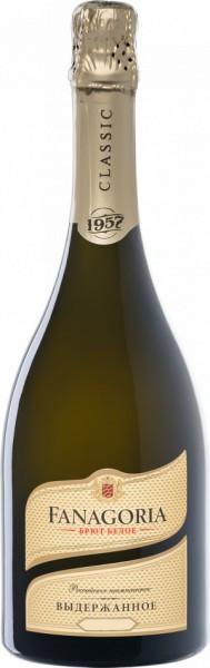 """Игристое вино """"Fanagoria"""" Brut Blanc Aged, 2014"""