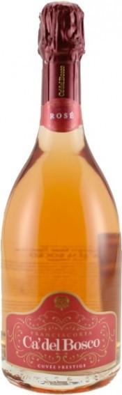 "Вино Franciacorta Rose DOCG ""Cuvee Prestige"""