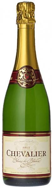 "Игристое вино Boisset, ""Chevalier"" Blanc de Blancs Brut"