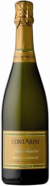 Игристое вино Contarini, Valdobbiadene Prosecco Superiore DOCG Extra Dry