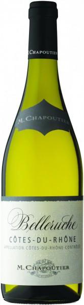"""Вино Cotes-du-Rhone """"Belleruche"""" Blanc AOC, 2012"""