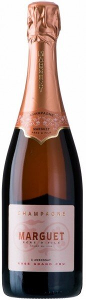 Шампанское Marguet, Grand Cru Rose, Champagne AOC