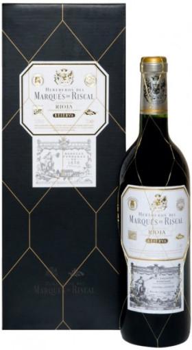 "Вино ""Herederos del Marques de Riscal"" Reserva, Rioja DOC, 2012, gift box"