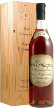 Арманьяк Bas-Armagnac Veuve J.Goudoulin 1974, 0.7 л