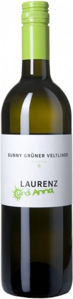 """Вино """"Sunny"""" Gruner Veltliner, 2015"""