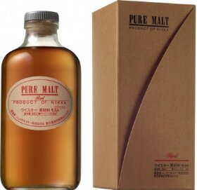 "Виски ""Nikka"" Pure Malt Red, gift box, 0.5 л"
