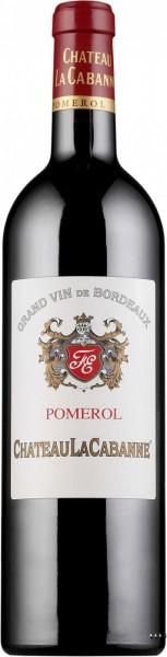 Вино Chateau la Cabanne, Pomerol AOC, 2005, 0.375 л