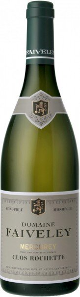 "Вино Faiveley, Mercurey Blanc ""Clos Rochette"" AOC, 2009"