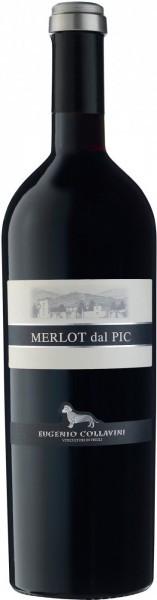 "Вино Eugenio Collavini, ""Merlot dal Pic"", Collio DOC, 2011"